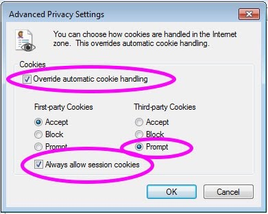 image of Advanced Privacy Settings