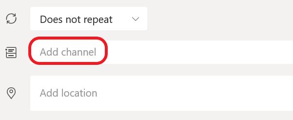 A visual representation of adding channel.