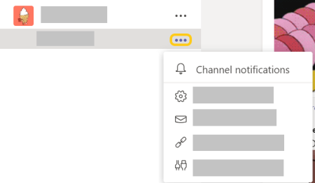 An overview of Channel Notifications pull-out.