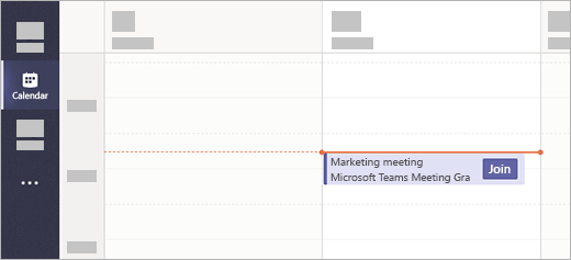 An example of joining from calendar.